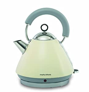 Morphy Richards Accents 43775 Pyramid Kettle - Cream