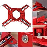 Alcoa Prime 90 Degree Angle Picture Frame Corner Clamp Woodworking Alloy Thick Thread