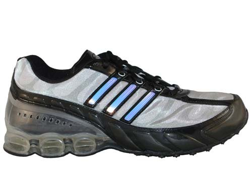 Adidas+Spectrum+Bounce+Black%2FMetallic+Silver%2FPurple+Leather+Running+Shoes+men%27s+11.5