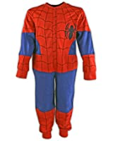 Spiderman Onesie   Spiderman All in One Pyjamas   From Age 2 to 7 Years