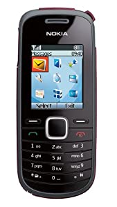 Nokia 1661 Prepaid Phone, Black (T-Mobile)