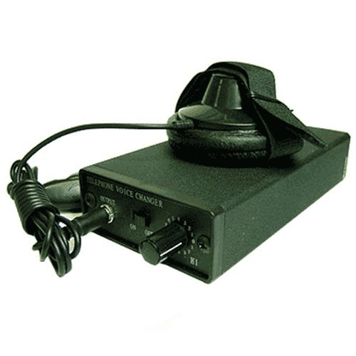 Spy-Max Security Products Portable Voice Changer - Vc-300, Includes Free Ebook