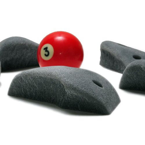 "Granite Style Climbing Holds ""Mounds"" 10 Pack w/ Hardware"