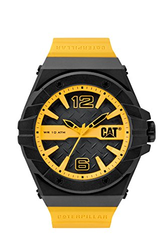 CAT WATCHES Men's LC11127137 Spirit Analog Display Quartz Yellow Watch