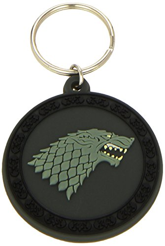 Pyramid intl - Portachiavi Game Of Thrones - Stark Gomme 5cm - 5050293383668