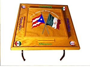 Buy Puerto Rico & Mexico Domino Table by latinos r us