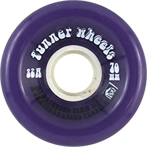 Iron Horse Funner Driking 70mm Purple Longboard Wheels (Set Of 4)