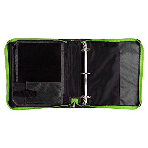 Five Star Zipper Binder With Expansion Panel, 3 Ring