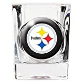 Pittsburgh Steelers 2 ounce Square Shot Glass
