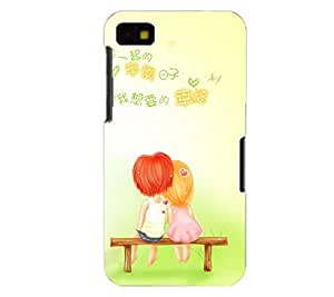 Perfect print back cover for Blackberry Z10