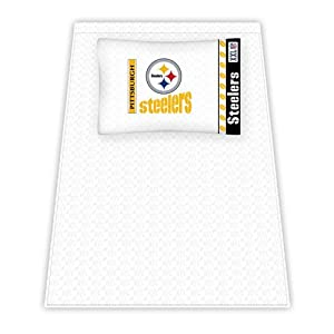 NFL Pittsburgh Steelers Micro Fiber Sheet Set by Sports Coverage