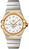 Omega Constellation White Mother of Pearl Steel Ladies Watches 123.20.31.20.55.002