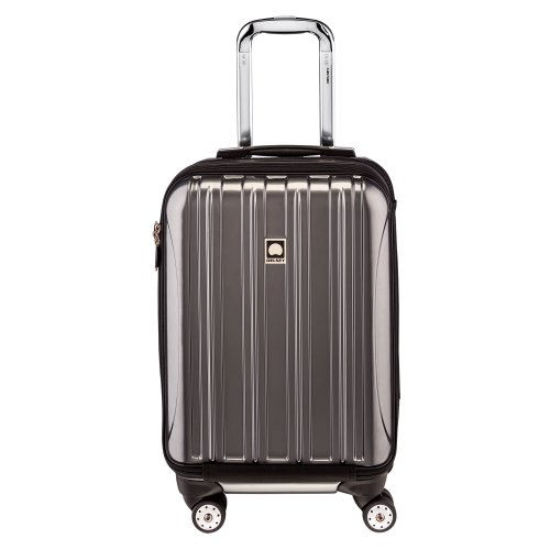 Delsey Luggage Helium Aero International Carry On Expandable Spinner Trolley (19