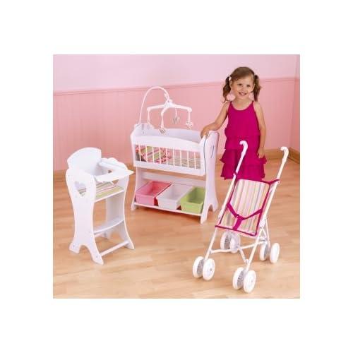 Amazon Com Kidkraft Love Amp Care 3 Piece Doll Furniture