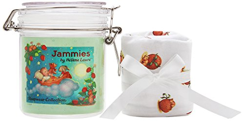 Jammies by Helene Laure Jammies in a Jar for Girls, Enchanted Evening Print, 0-3 Months