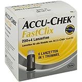 Accu Chek FastClix 200+4 Lanzetten
