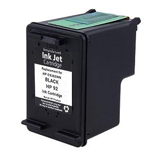 Everydaysource® Remanufactured HP 92 (C9362W) Black Ink Cartridge