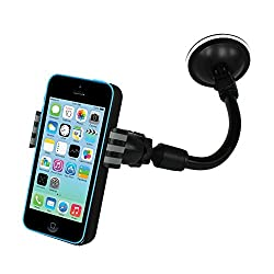 Kalaideng X6 Car Mobile Mount Holder Stand for Intex Aqua Y2 Power - (Black)
