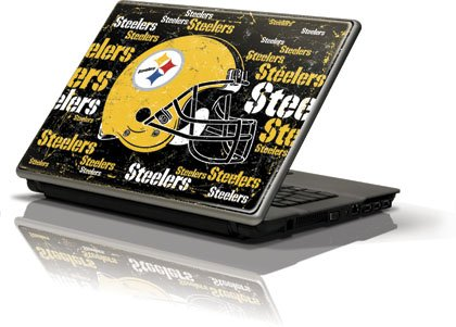 NFL - Pittsburgh Steelers - Pittsburgh Steelers - Blast Dark - Generic 12in Laptop (10.6in X 8.3in) - Skinit Skin by Skinit