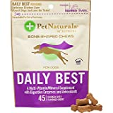 Pet Naturals of Vermont Daily Best for Dogs Chicken Liver -- 45 Flavored Chews