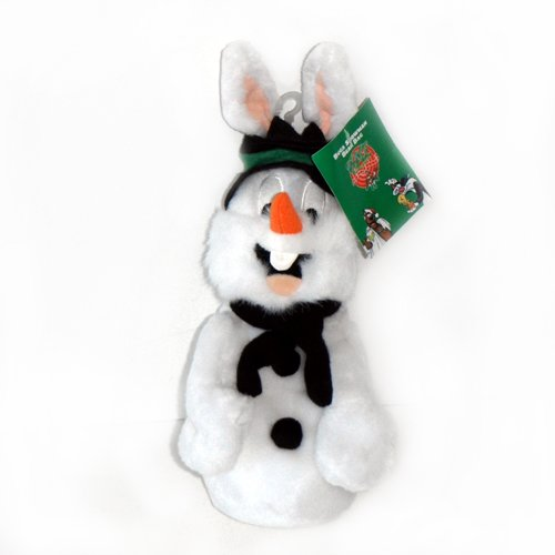 Bugs Bunny Snowman - Warner Bros Bean Bag Plush