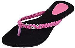 Green Apple Girls Black Synthetic Outdoor Sandals 7 UK