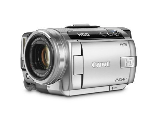 416Rwj0mngL Canon HG10 AVCHD High Definition Camcorder with Optical Image Stabilizer
