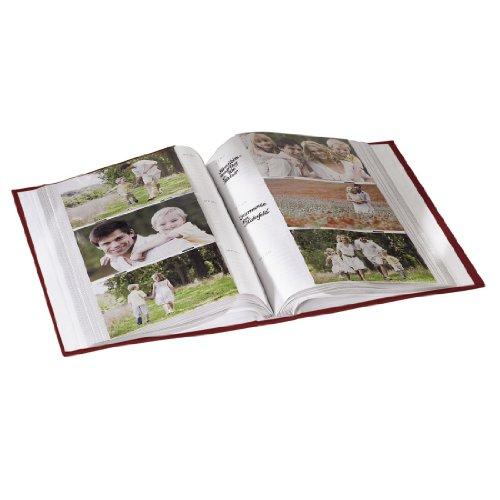 Hama wild rose album foto 300 foto 10x15 rosso - Album portafoto 10x15 ...