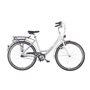 Damenfahrrad 26 Zoll: ATALA Damen Cityrad Easyway, white-silver ...