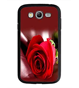 PrintDhaba Red Rose D-1143 Back Case Cover for SAMSUNG GALAXY GRAND NEO PLUS (Multi-Coloured)