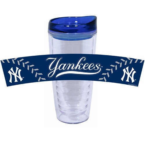 mlb-new-york-yankees-tritan-tumbler-with-pvc-and-lid-16-ounce-team-color-by-hunter-mfg-llp