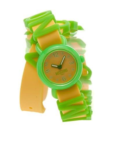 Moschino Teen Reloj Fashion Alphabet Verde / Amarillo