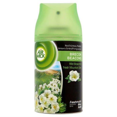 Airwick Freshmatic Max Automatic Spray Refill Wild Blossom & Fresh Mountain Dew 250ML