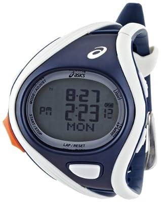 Asics Unisex Challenge CQAR0403 Blue Polyurethane Quartz Watch with Digital Dial from Asics