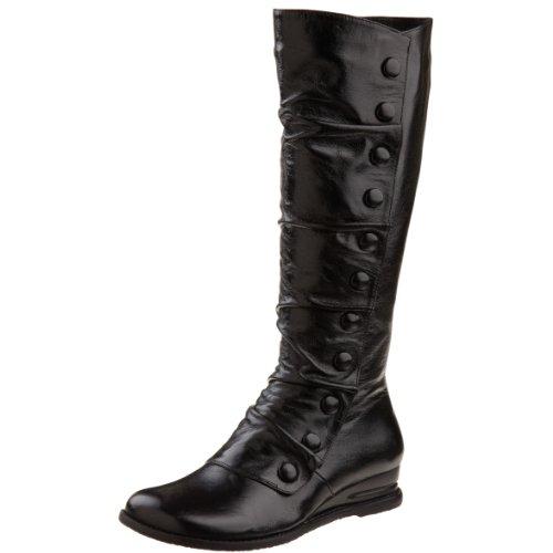 boots miz mooz s bloom knee high boot black 7 m us