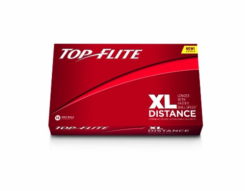Top-Flite XL Distance Golf  Balls - 15 Pack