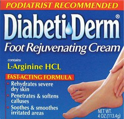 Buy natural foot care products - Health Care Products Diabetiderm Foot Rejuvenating Cream 4 Ounces  4