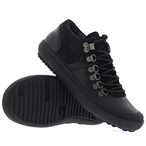 08. Fly London Womens Mavi Leather Shoes