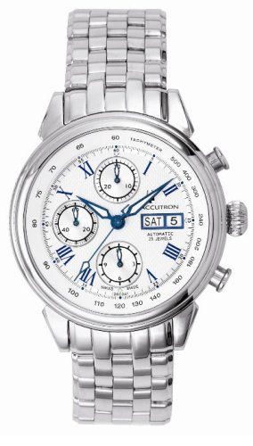 Accutron Men's 26C04 Gemini Automatic Chronograph Watch