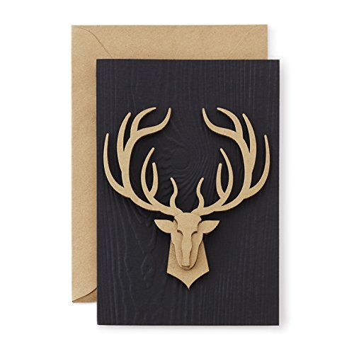 Hallmark Signature Collection Masculine Birthday Card: Strong Stag PDF