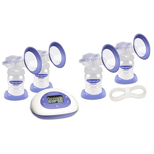 Lansinoh Signature Pro Double Electric Breast Pump with Extra Pumping Set