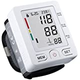 Professional FDA Approved Home Wrist Type Home Automatic Digital Blood Pressure Monitor Electronic Sphygmomanometer... - B019RJ9OT2
