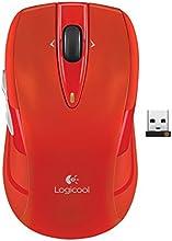 Logicool ロジクール ワイヤレスマウス レッド M545RD