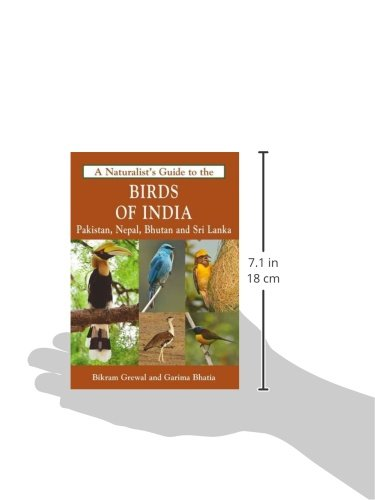 The Naturalist's Guide to the Birds of India: Including Pakistan, Nepal and Bhutan