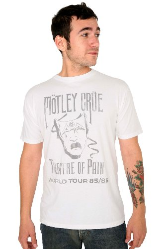 Junk Food Motley Crue Theatre Of Pain T-Shirt