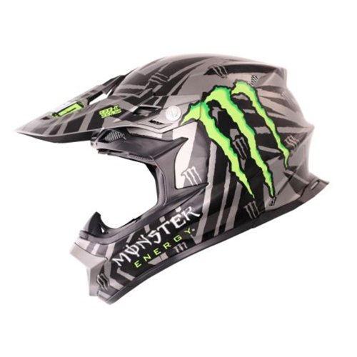 Oneal 812 Helm 2012 - Monster Energy - Ricky Dietrich: Größe Helm: XL (61/62 cm)