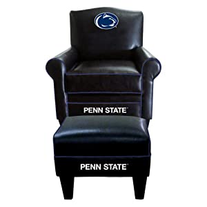 Buy NCAA Penn State Nittany Lions Game Time Chair and Ottoman by Imperial