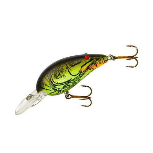Bomber Model A Fishing Lure (Moss Back Craw, 2 1/8-Inch)