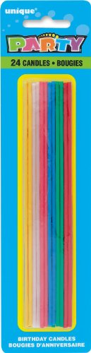 Tall Skinny Candles Party Accessory
