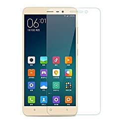 Febelo Branded Perfect Fitting 2.5D Crystal Clear 9H Ultra Thin Curve Edge Tempered Glass Screen Protector For Xiaomi Redmi Note 3